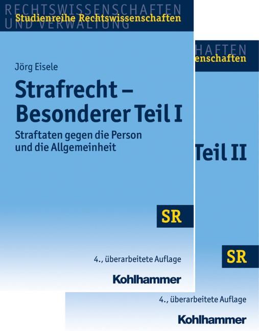 Strafrecht Besonderer Teil I + Besonderer Teil II • Set | Eisele | 4. Auflage, 2017 | Buch (Cover)