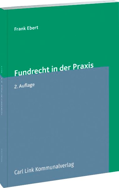 Fundrecht in der Praxis | Ebert | 2. Auflage, 2016 | Buch (Cover)