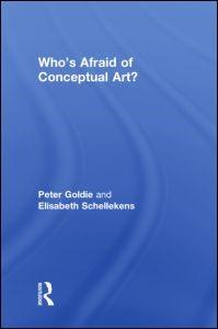 Abbildung von Goldie / Schellekens   Who's Afraid of Conceptual Art?   2009
