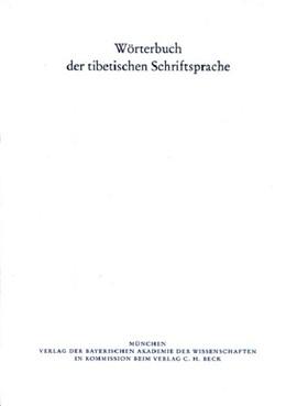 Abbildung von Wörterbuch der tibetischen Schriftsprache 34. Lieferung | 1. Auflage | 2016 | Lieferung 34. | beck-shop.de