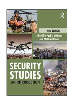 Abbildung von Williams / McDonald   Security Studies   2018   An Introduction