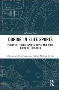 Doping in Elite Sports   Brissonneau / de Oca, 2018   Buch (Cover)