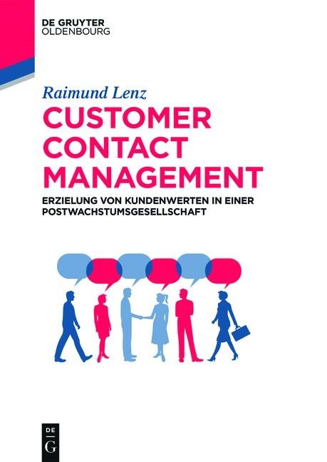 Customer Contact Management | Lenz, 2019 | Buch (Cover)