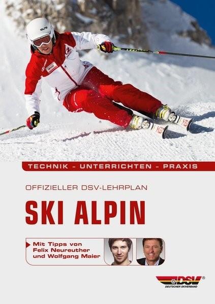 Offizieller DSV-Lehrplan Ski Alpin   3. Auflage, 2012   Buch (Cover)