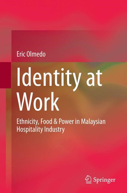 Identity at Work | Olmedo | Softcover reprint of the original 1st ed. 2015, 2016 | Buch (Cover)