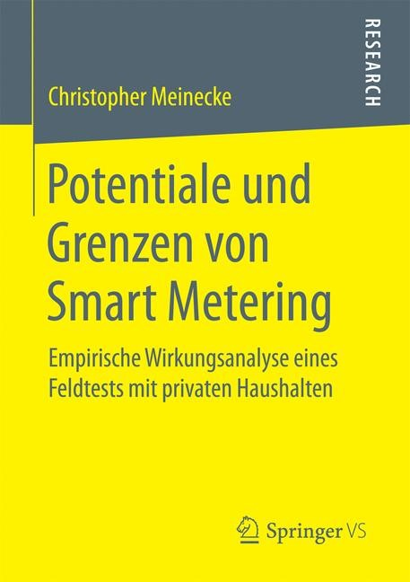 Abbildung von Meinecke | Potentiale und Grenzen von Smart Metering | 2016