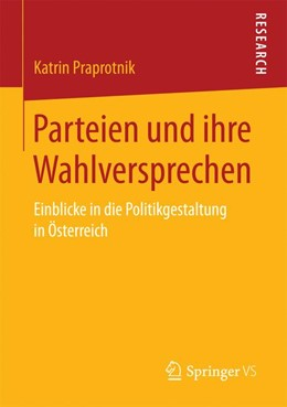 Abbildung von Praprotnik | Parteien und ihre Wahlversprechen | 1. Auflage | 2016 | beck-shop.de