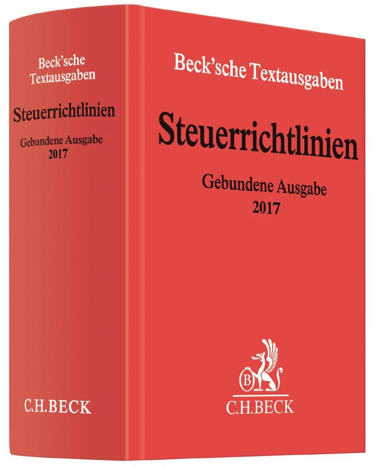 Steuerrichtlinien Gebundene Ausgabe 2017, 2017 | Buch (Cover)