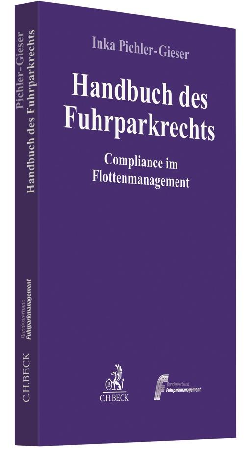 Handbuch des Fuhrparkrechts   Pichler-Gieser, 2018   Buch (Cover)