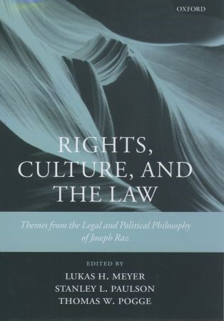 Abbildung von Meyer / Paulson / Pogge   Rights, Culture and the Law   2003