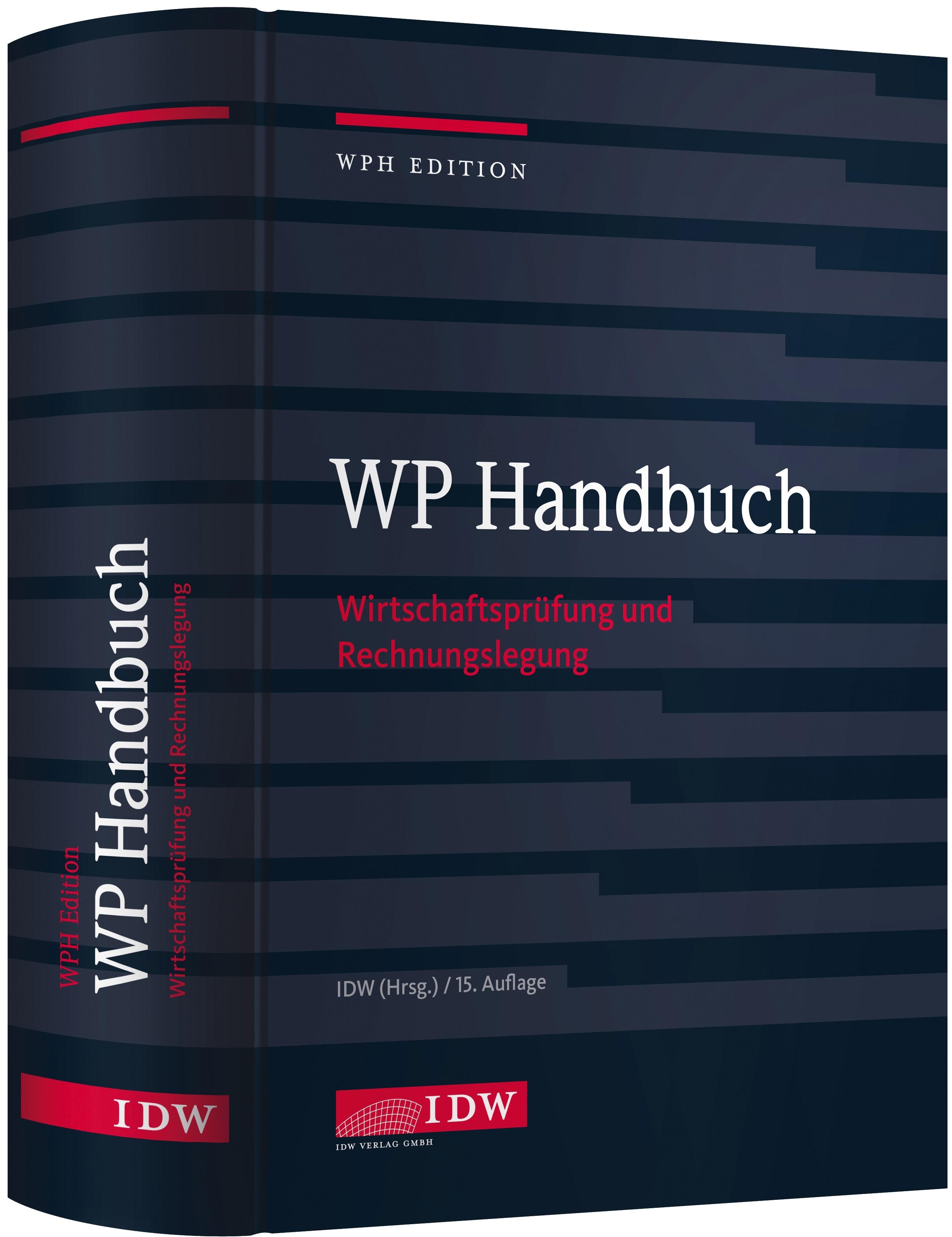 WP Handbuch | 15. Auflage, 2016 | Buch (Cover)