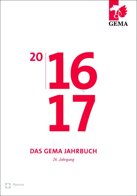 GEMA Jahrbuch 2016/2017 | Heker, 2016 | Buch (Cover)