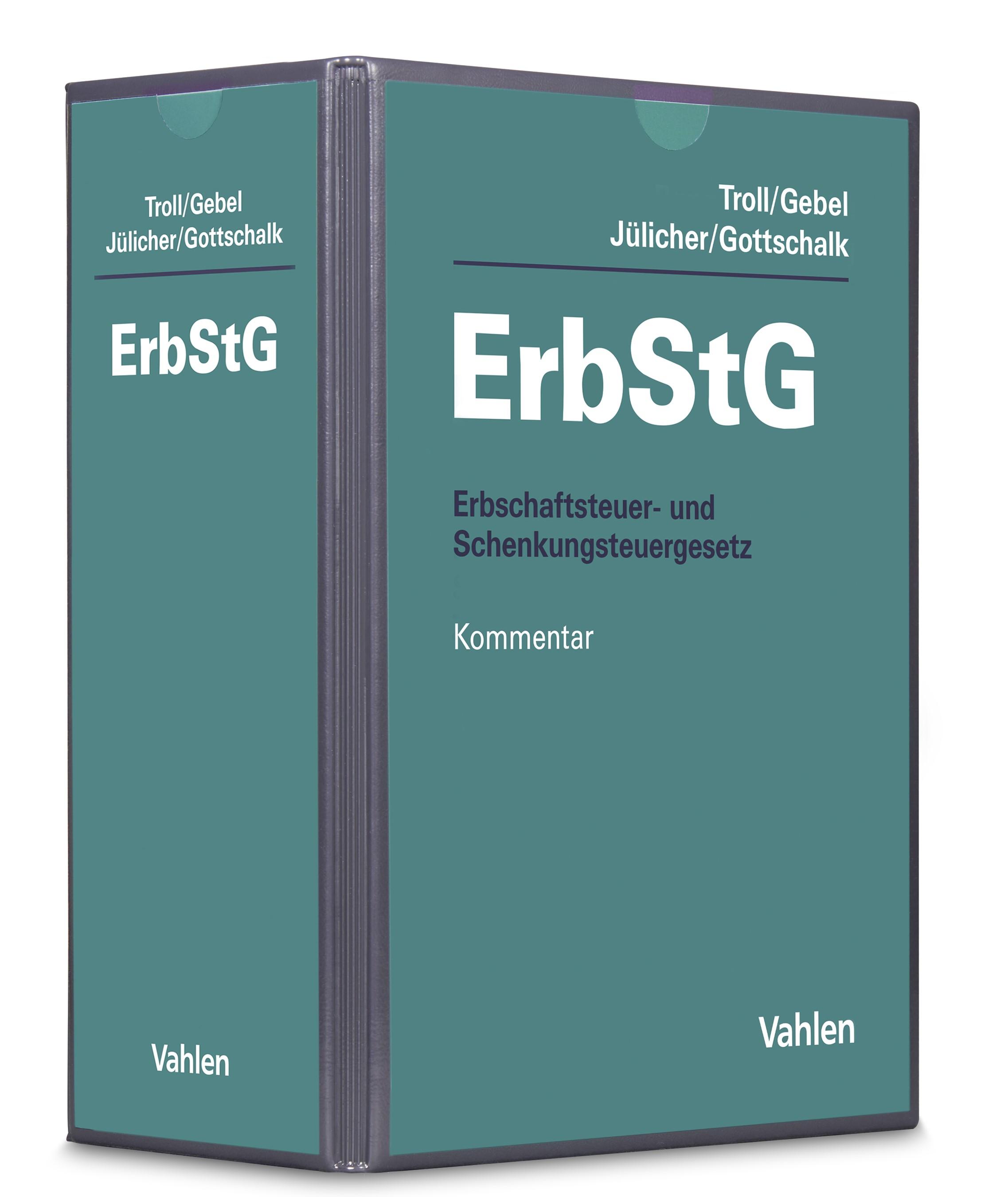 Abbildung von Troll / Gebel / Jülicher / Gottschalk | Erbschaftsteuer- und Schenkungsteuergesetz: ErbStG | 56. Auflage | 2019