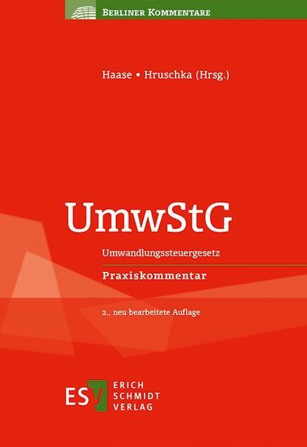 UmwStG | Haase / Hruschka (Hrsg.) | 2. Auflage, 2017 | Buch (Cover)