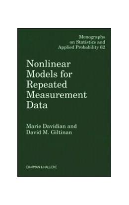 Abbildung von Davidian / Giltinan   Nonlinear Models for Repeated Measurement Data   1995   62