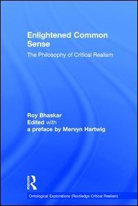Abbildung von Bhaskar / Hartwig | Enlightened Common Sense | 2016