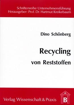 Abbildung von Schönberg / Kreikebaum | Recycling von Reststoffen | 1994 | Weiterverarbeitung von säure- ... | 9
