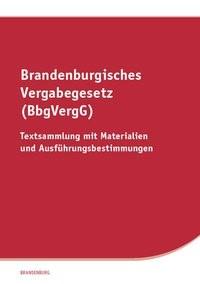 Brandenburgisches Vergabegesetz (BbgVergG), 2017 | Buch (Cover)