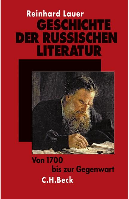 Cover: Reinhard Lauer, Geschichte der russischen Literatur