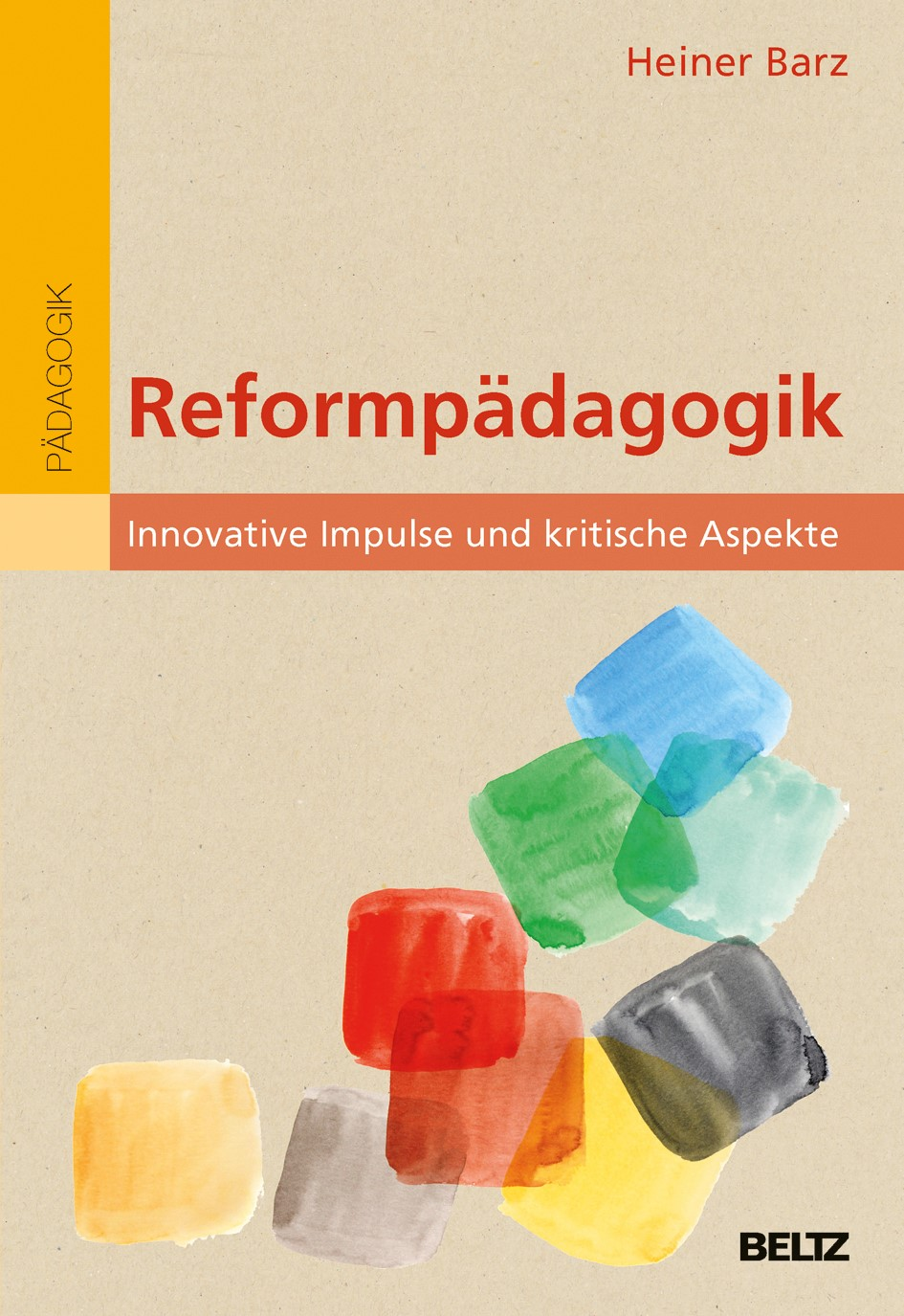 Reformpädagogik   Barz, 2017   Buch (Cover)