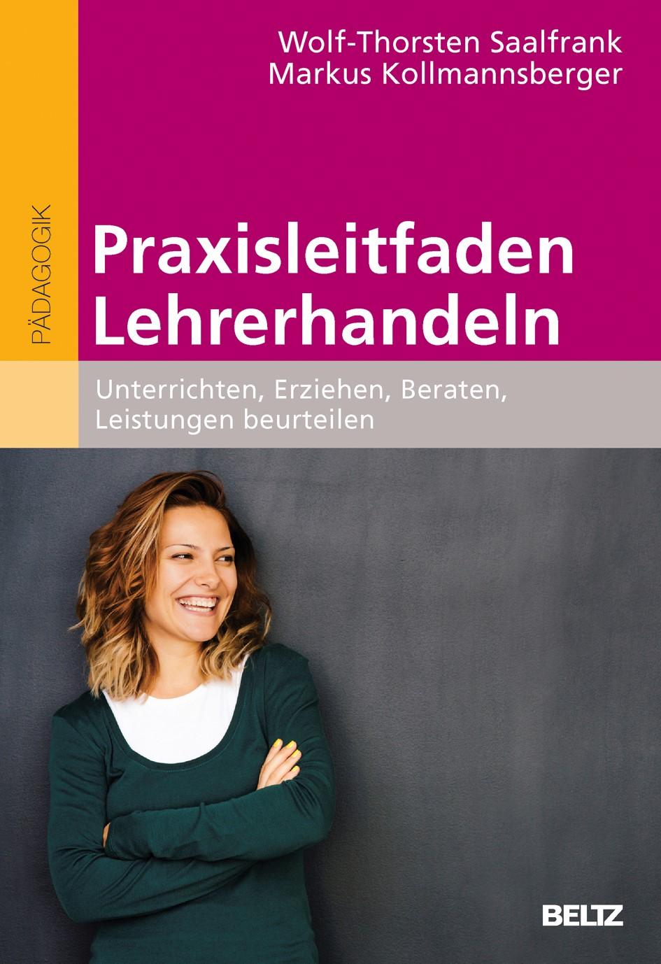 Praxisleitfaden Lehrerhandeln | Saalfrank / Kollmannsberger, 2017 | Buch (Cover)