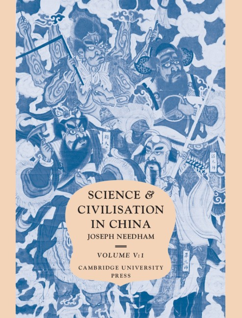 Abbildung von Needham / Tsuen-Hsuin | Science and Civilisation in China: Volume 5, Chemistry and Chemical Technology, Part 1, Paper and Printing | 1985