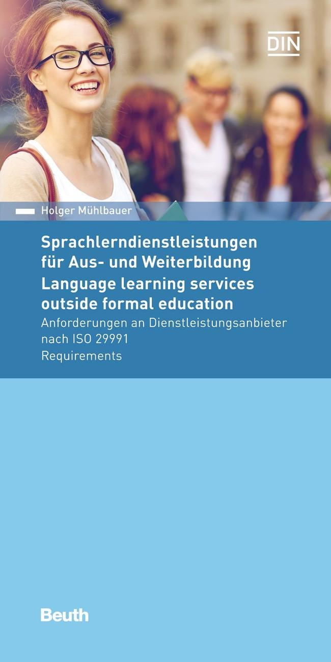 Sprachlerndienstleistungen für Aus- und Weiterbildung   Mühlbauer, 2016   Buch (Cover)