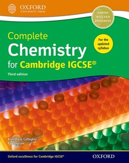 Abbildung von Gallagher / Ingram | Complete Chemistry for Cambridge IGCSE® | 2016
