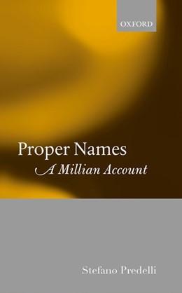 Abbildung von Predelli | Proper Names | 2017 | A Millian Account