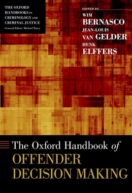 Abbildung von Bernasco / Elffers / van Gelder | The Oxford Handbook of Offender Decision Making | 2017