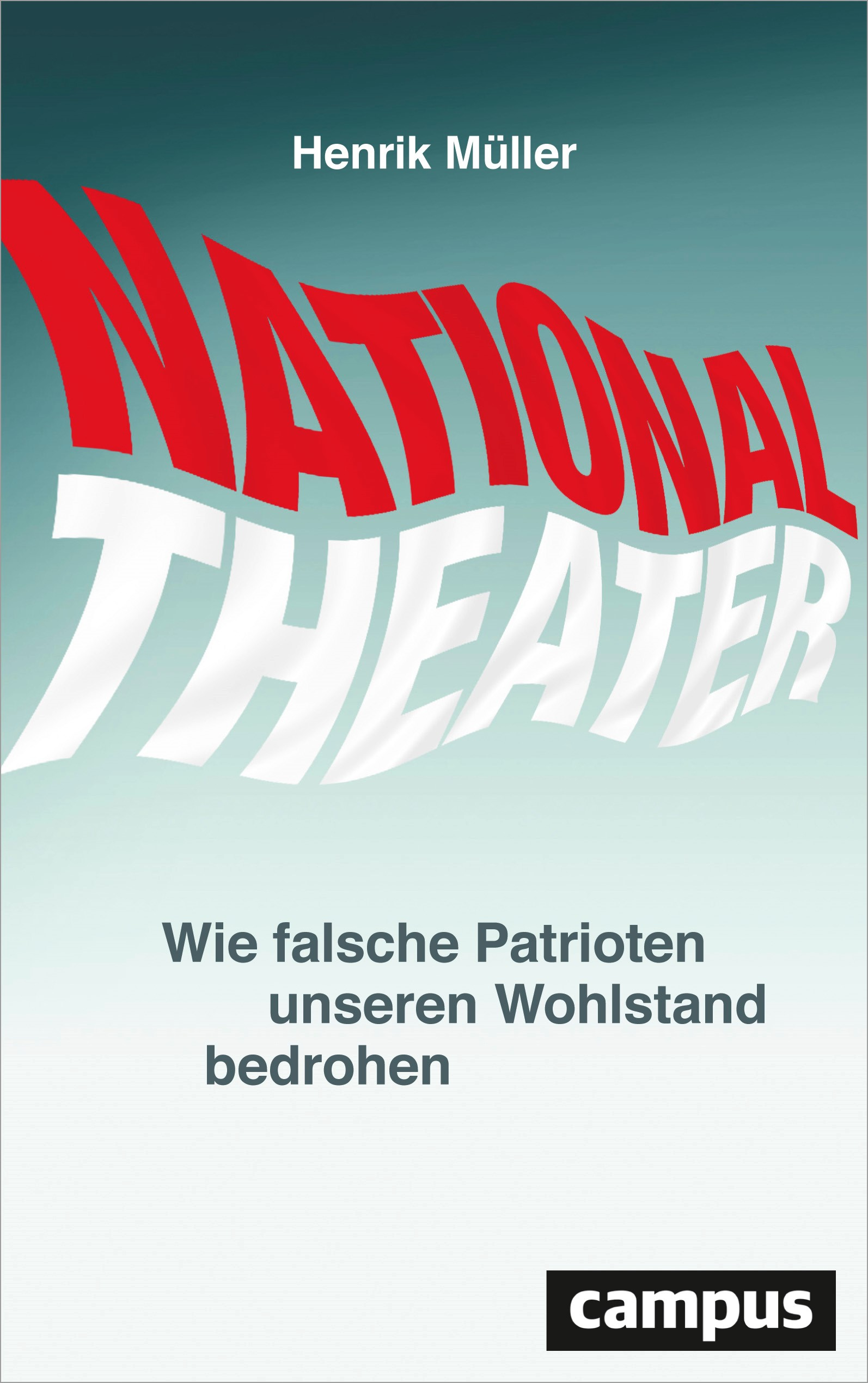 Nationaltheater | Müller, 2017 | Buch (Cover)