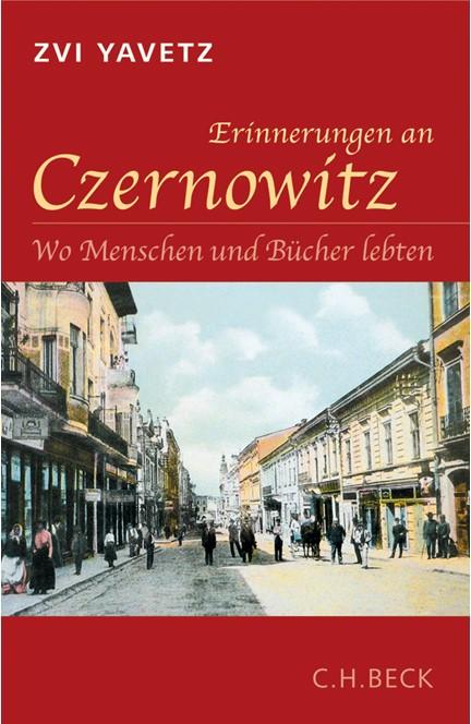 Cover: Zvi Yavetz, Erinnerungen an Czernowitz