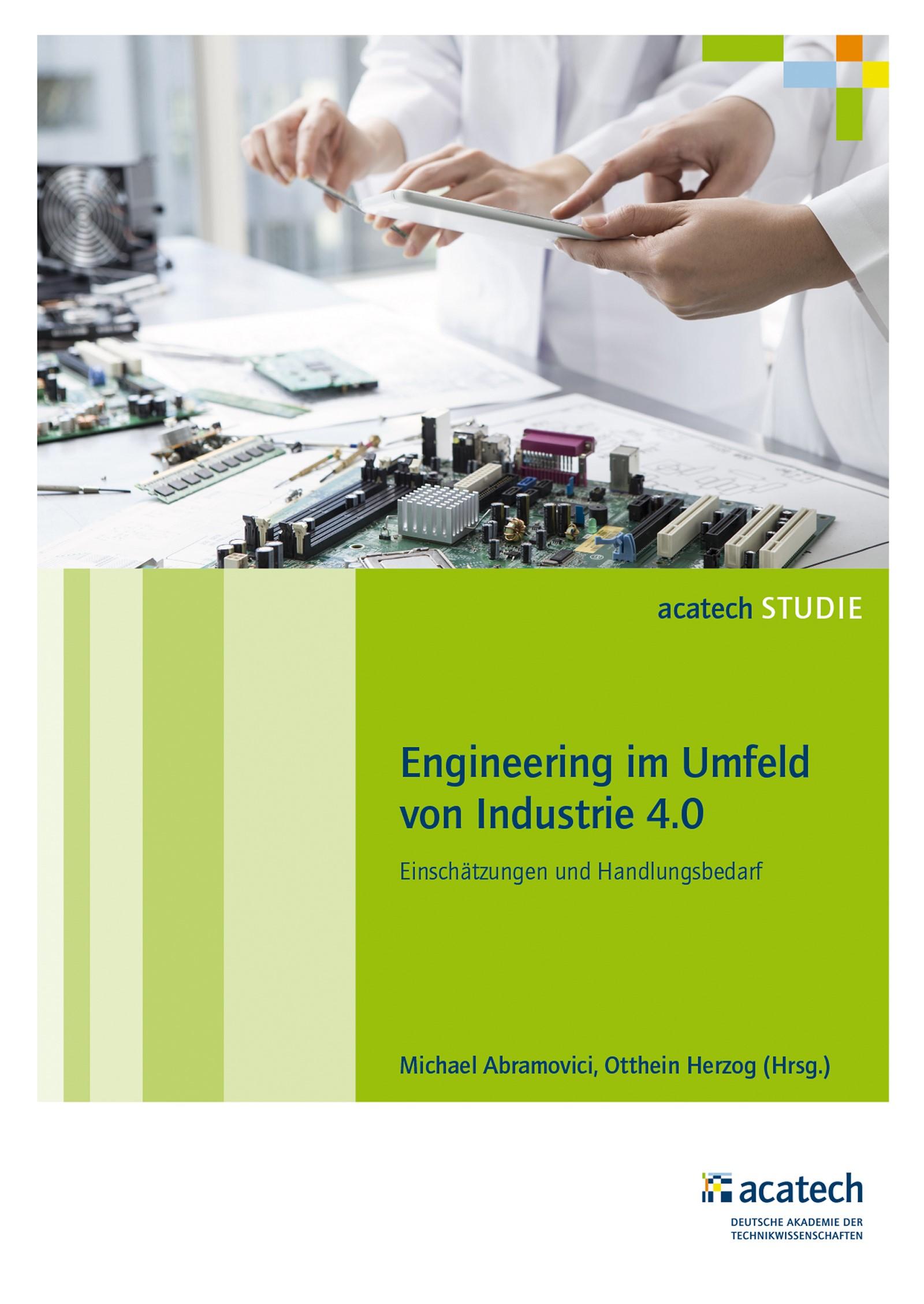 Engineering im Umfeld von Industrie 4.0 | Abramovici / Herzog, 2016 | Buch (Cover)