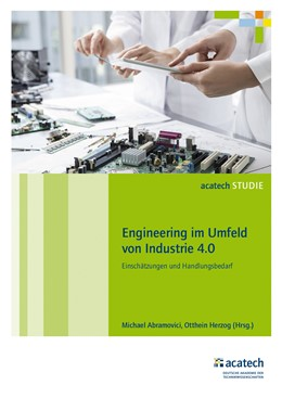 Abbildung von Abramovici / Herzog | Engineering im Umfeld von Industrie 4.0 | 2016 | Einschätzungen und Handlungsbe...
