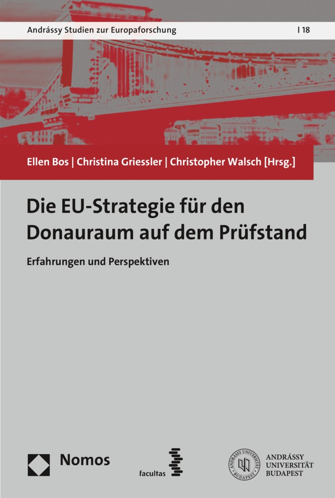 Die Europäische Strategie für den Donauraum auf dem Prüfstand   Bos / Griessler / Walsch, 2019   Buch (Cover)