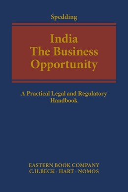 Abbildung von Spedding   India: The Business Opportunity   1. Auflage   2016   beck-shop.de