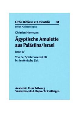 Abbildung von Herrmann | Ägyptische Amulette aus Palästina/Israel Band IV | Aufl. | 2016 | Von der Spätbronzezeit IIB bis... | Band 038
