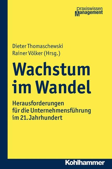Wachstum im Wandel | Thomaschewski / Völker (Hrsg.), 2017 | Buch (Cover)