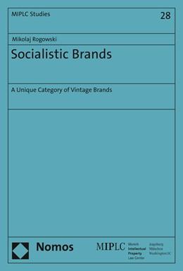 Abbildung von Rogowski | Socialistic Brands | 1. Auflage | 2017 | beck-shop.de