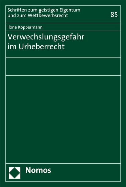 Verwechslungsgefahr im Urheberrecht   Koppermann (Cover)