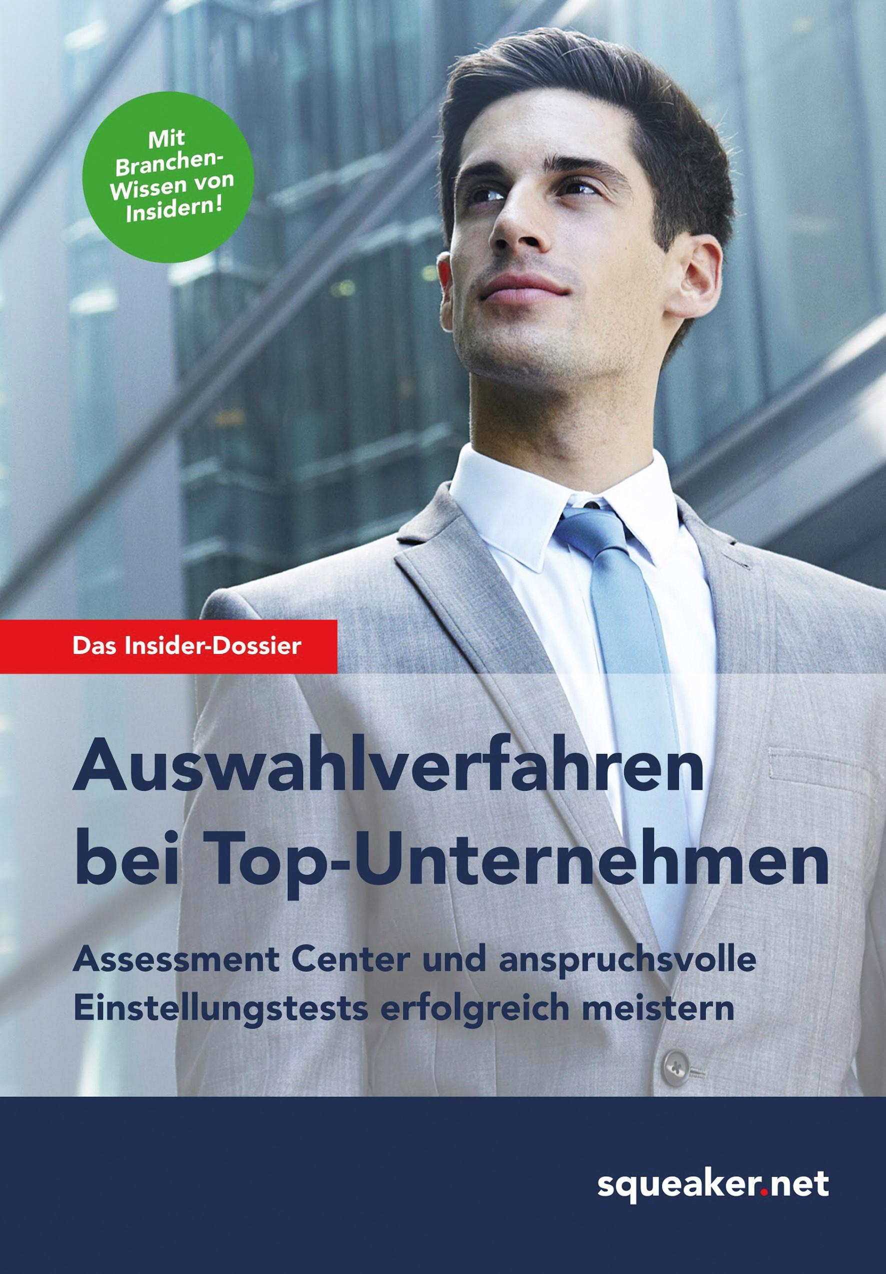 Abbildung von Menden | Das Insider-Dossier: Auswahlverfahren bei Top-Unternehmen | 2017