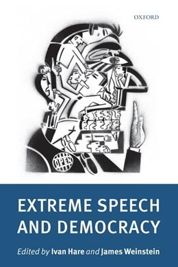 Abbildung von Hare / Weinstein | Extreme Speech and Democracy | 2009