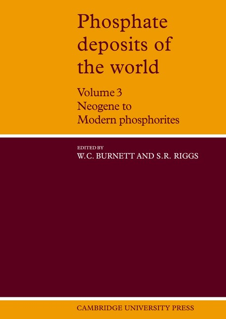 Abbildung von Burnett / Riggs | Phosphate Deposits of the World: Volume 3, Neogene to Modern Phosphorites | 2006