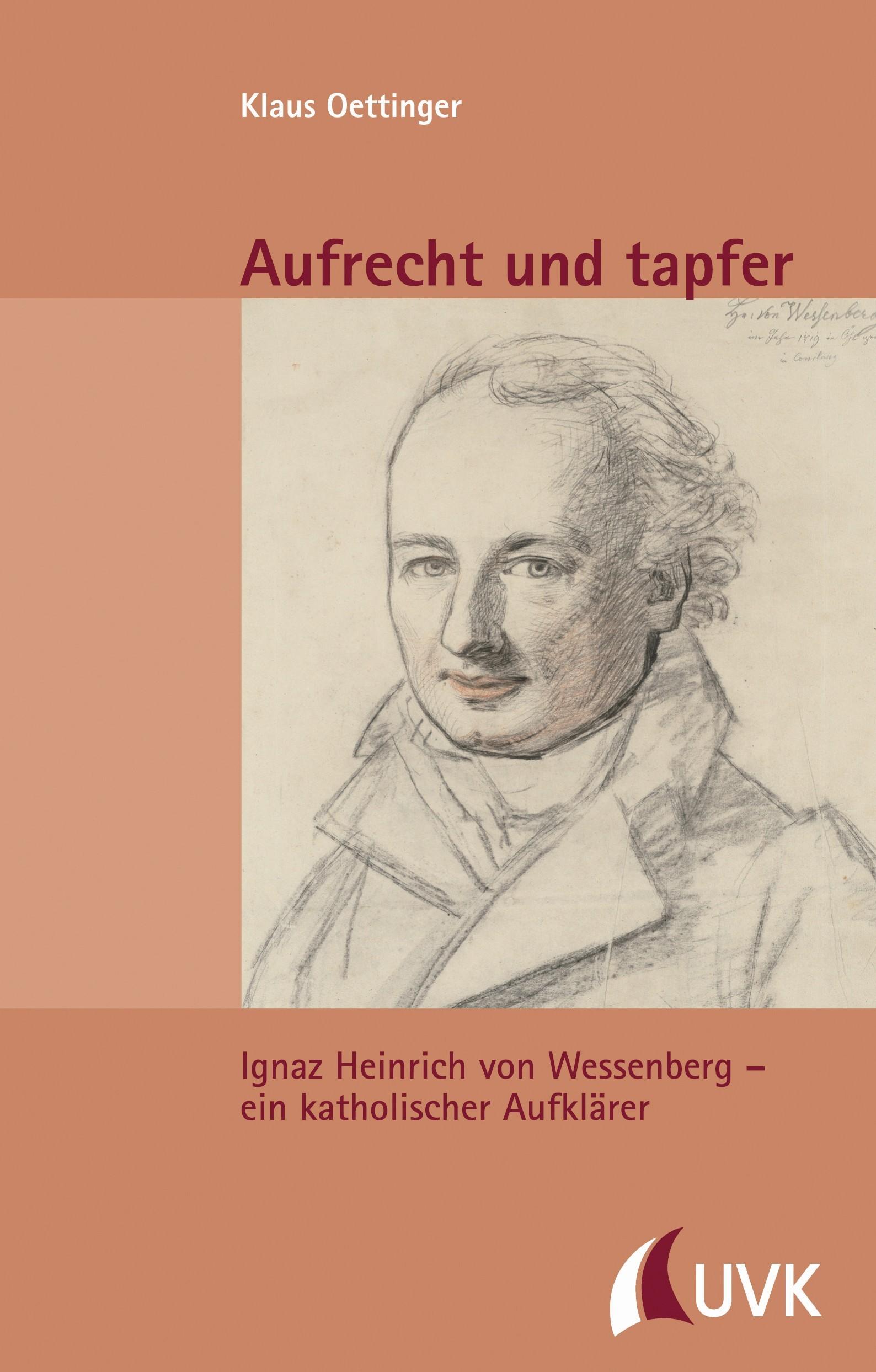 Aufrecht und tapfer | Oettinger, 2016 | Buch (Cover)