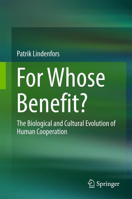 Abbildung von Lindenfors | For Whose Benefit? | 2017