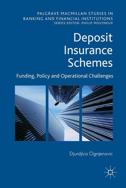 Deposit Insurance Schemes | Ognjenovic, 2017 | Buch (Cover)