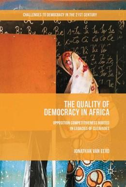 Abbildung von Eerd   The Quality of Democracy in Africa   1. Auflage   2017   beck-shop.de