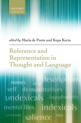 Abbildung von de Ponte / Korta   Reference and Representation in Thought and Language   2017
