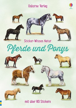 Abbildung von Spector   Sticker-Wissen Natur: Pferde und Ponys   1. Auflage   2017   beck-shop.de