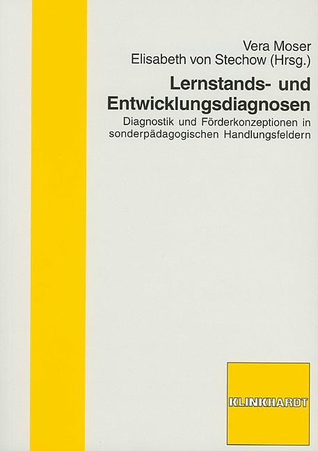 Lernstands- und Entwicklungsdiagnosen   Moser / Stechow, 2005   Buch (Cover)
